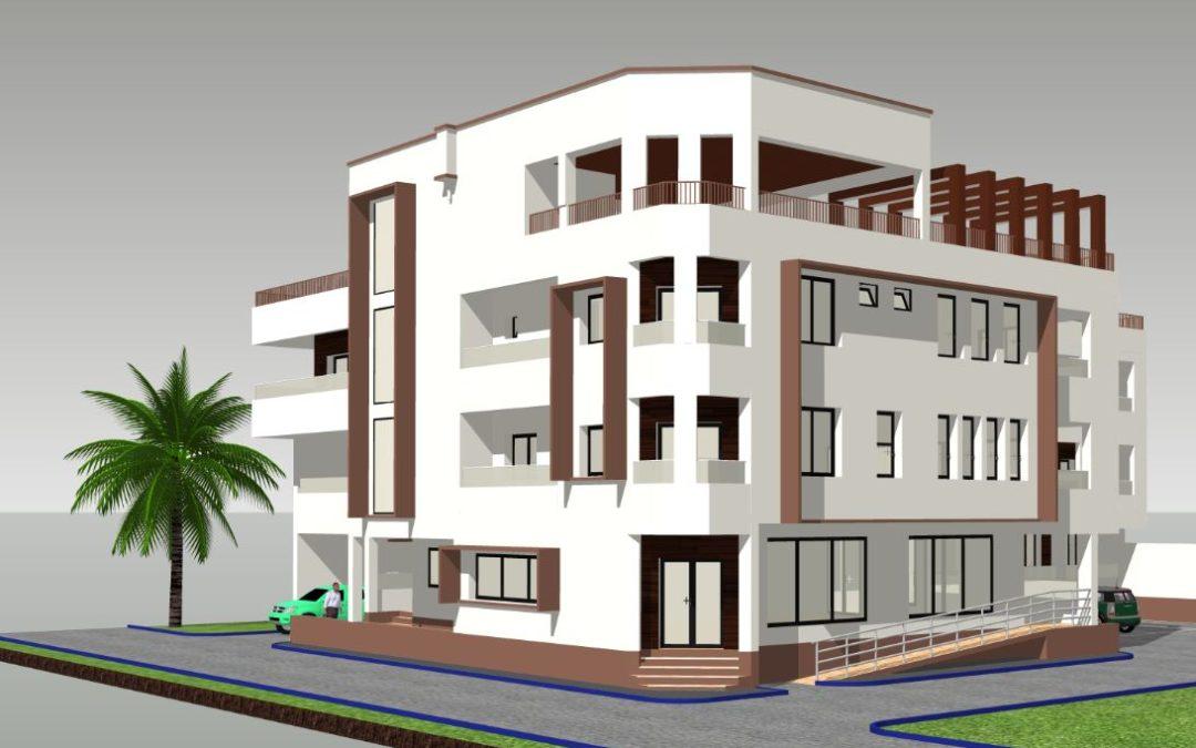 Projet d'immeuble